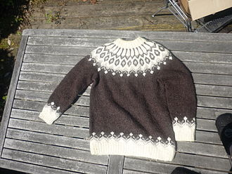 Sweater - A pullover from Iceland