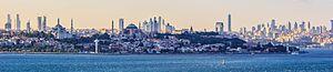 Istanbul panorama and skyline