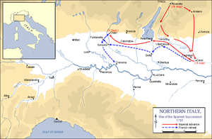 Battle of Chiari - The north Italian campaign, 1701.