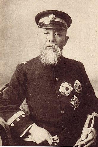 Itō Hirobumi - Portrait of Ito Hirobumi, c. 1895
