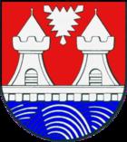 Das Wappen von Itzehoe