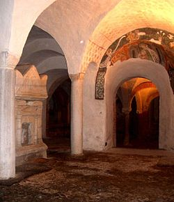 The crypt of the Cathedral.