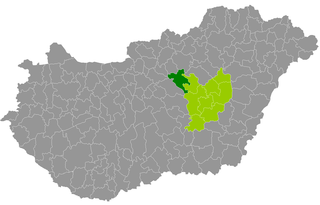 Jászberény District Districts of Hungary in Jász-Nagykun-Szolnok