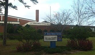 Auburn City Schools - Image: J. F. Drake Middle School