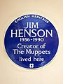 JIM HENSON 1936-1990 Creator of The Muppets lived here.jpg