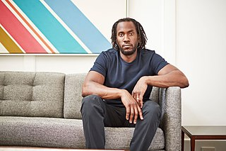 Rashid Johnson American artist and film director