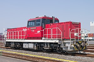 Hybrid train - Hybrid Class HD300 locomotive