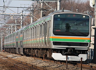 Utsunomiya Line - Image: JR EAST E231 1000 U541