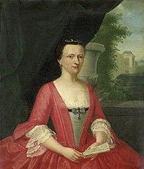 Portrait of Jacoba Maria van Bueren gezegd van Regteren, Wife of Johan Willem Parker