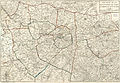 Jacques Esnauts, Nouveau plan des environs de Paris et Département de Seine et Oise.jpg