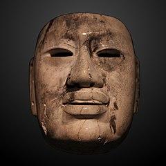 Jade Olmec mask-1991.968