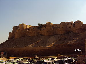 Jaisalmer Fort - Jaisalmer Fort (from Sonargadh)