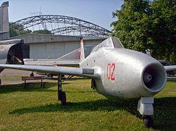 Jak-17UTI v Polském leteckém muzeu