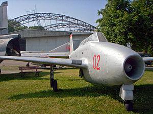 Yakovlev Yak-17 - Yak-17UTI in the Polish Aviation Museum