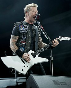 James Hetfield American musician, songwriter and record producer