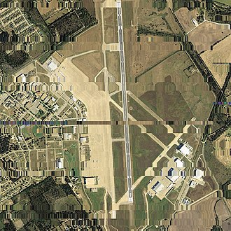 James Connally Air Force Base - Aerial photo of Connally Air Force Base, 2006