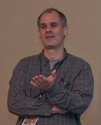 James Sturm - Sturm at Stumptown Comics Fest 2010