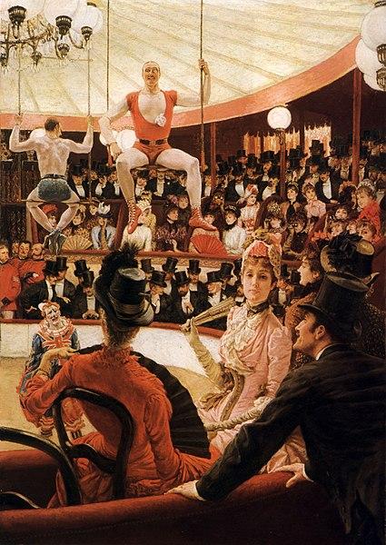File:James Tissot - Women of Paris, The Circus Lover.jpg