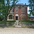 James Whitcomb Riley Museum Home, Lockerbie Square, Indianapolis, Indiana 2016 front facing view.jpg