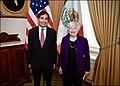 Janet Yellen and Rogelio Ramírez de la O at the 2021 IMF Autumn Meeting.jpg