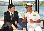 Japanese defense minister visits USS Arizona 130702-N-IT566-059.jpg