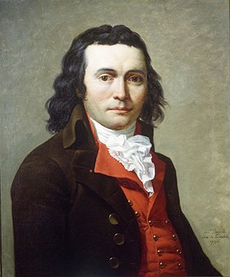 Jean-Louis Laneuville - Portrait of Ruamps de Surgeres