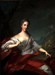Madame Boudrey as a Muse