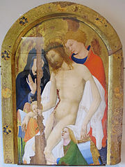 Pietà with Saint John Evangelist and Two Angels
