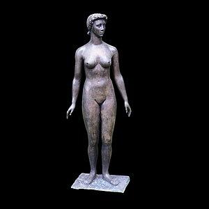 Paul Belmondo (sculptor) - Image: Jeannette Paul Belmondo P5080477 black
