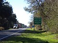 Jefferson County, Florida State signs US 221 SB.JPG