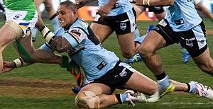 Jeremy Smith (rugby league, born 1980) - Image: Jeremy Smith Sharks