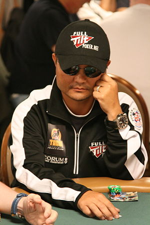 Jerry Yang (poker player) - Yang at the 2008 World Series of Poker