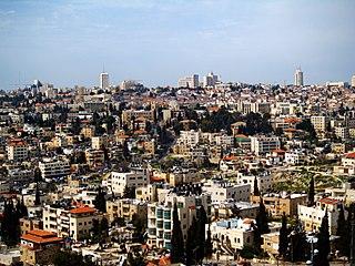 Sheikh Jarrah Palestinian neighborhood in East Jerusalem