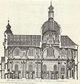Jesuitenkirche Mannheim Laengsschnitt 1753 Gebr Klauber.jpg