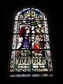 Jeumont (Nord, Fr) Église St.Martin, vitrail 12 Laissez venir les enfants à Moi.JPG