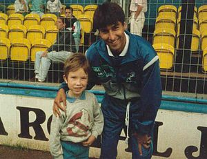 Jimmy Carter (footballer) - Carter whilst playing for Millwall in 1989
