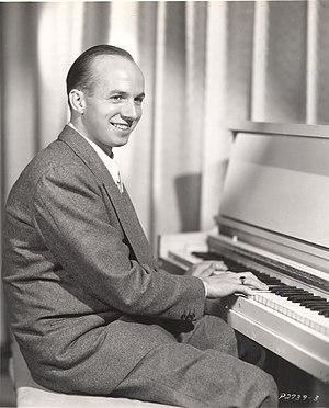 Jimmy Van Heusen - Jimmy Van Heusen playing the piano