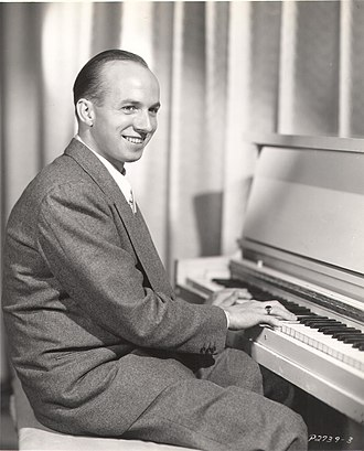 Jimmy Van Heusen - Jimmy Van Heusen playing the piano