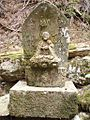 Jizo statue at Ishikura pass 20090504.jpg