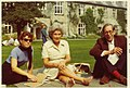 Joan Aiken, Kaye Webb and Stuart Ray, 1972.jpg
