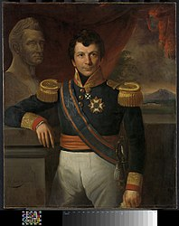 Raden Saleh: Portrait of Johannes Graaf van den Bosch (1780-1844), Gouverneur-generaal (1830-33)