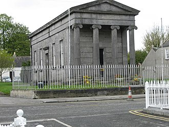 Birr, County Offaly - John's Hall, John's Mall, Seat of Birr Town Council