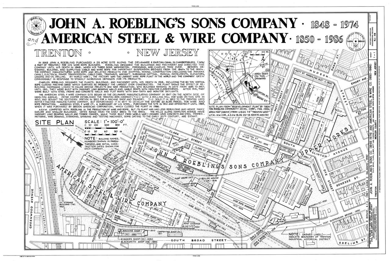 File:John A. Roebling\'s Sons Company and American Steel and Wire ...