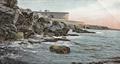 John Critien postcard of Ghar id-Dud Rocks.png