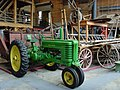 John Deere model B tractor, Agricultural and Industrial Museum York.jpg