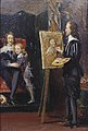 John Everett Millais (1829-1896) - Charles I and his Son in the Studio of Van Dyck - N01808 - National Gallery.jpg