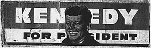 John F. Kennedy Bumper Sticker, 01/02/1960 - 1...