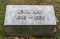 John Hay granite marker 2 - Lake View Cemetery (25890320948).jpg