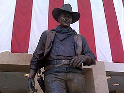 John Wayne Statue Orange County Airport