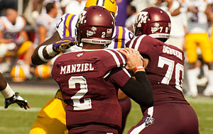 Johnny Manziel - Manziel playing against LSU – October 20, 2012